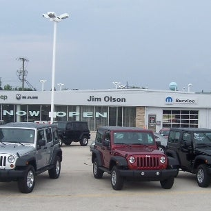 Jim Olson Chrysler Dodge Jeep Ram Sturgeon Bay Wi