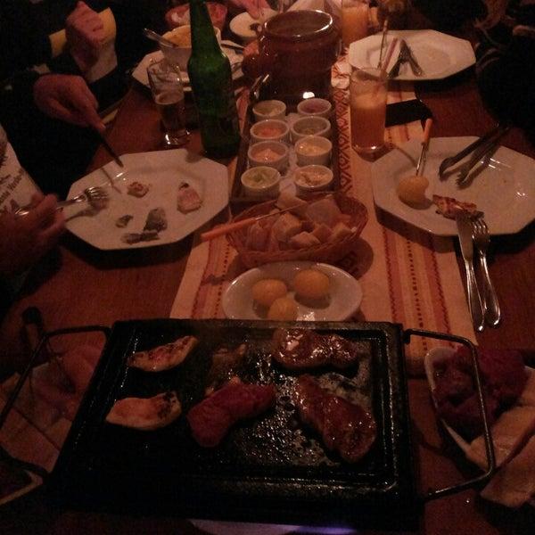 Foto tirada no(a) Restaurante Mont Vert por Bruno P. em 10/15/2013