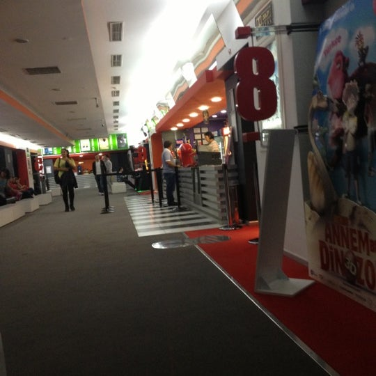 Photo taken at Cinemaximum by Zeynep G. on 11/16/2012