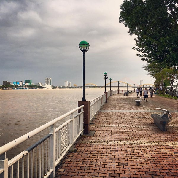 Photo taken at Han River Bridge by Jude L. on 12/30/2016