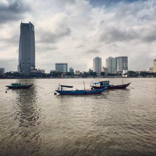 Photo taken at Han River Bridge by Jude L. on 12/19/2016