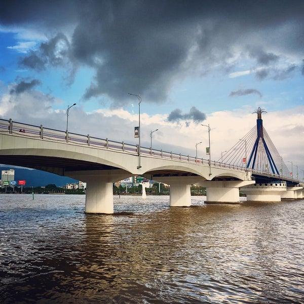 Photo taken at Han River Bridge by Jude L. on 12/28/2016