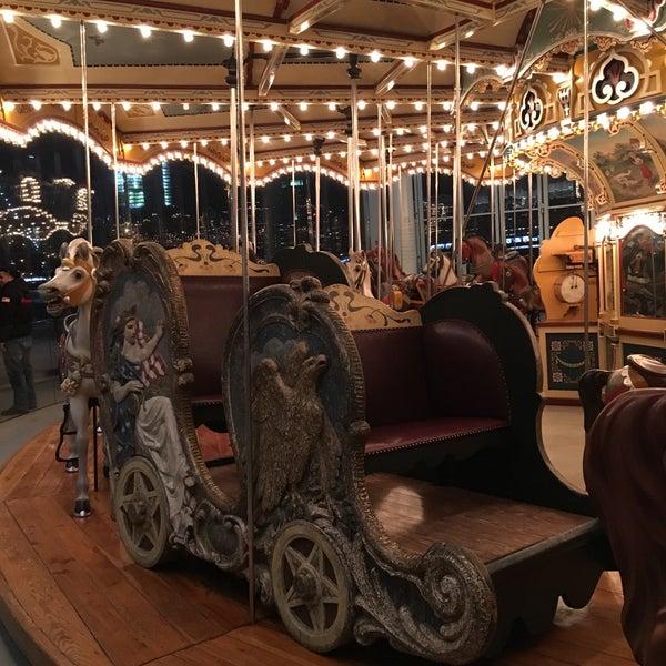 Photo taken at Jane's Carousel by HATSUMI on 1/15/2017