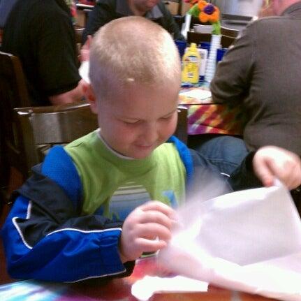 Photo taken at Tie Dye Grill by Rachel T. on 12/4/2012