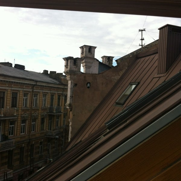 Photo taken at Comfort Hotel Vilnius by Andrew D. on 4/26/2013