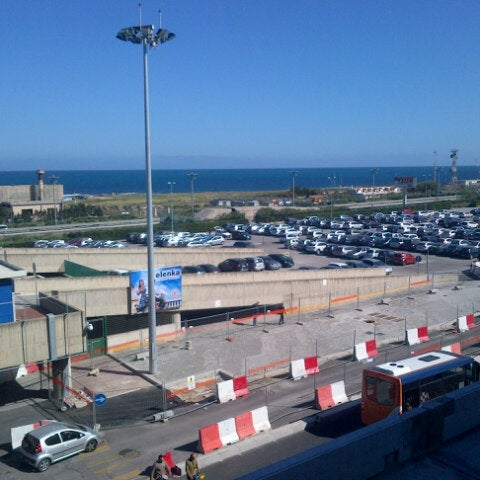 Photo taken at Palermo Airport (PMO) by Francesco R. on 4/5/2013
