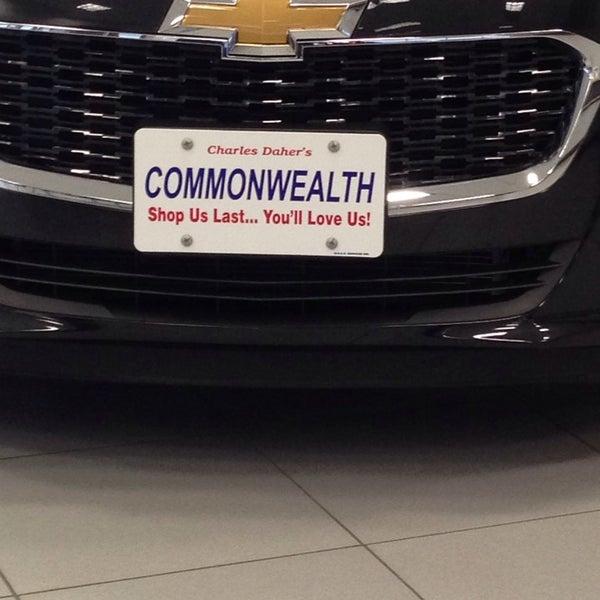Commonwealth Motors Automotive Shop