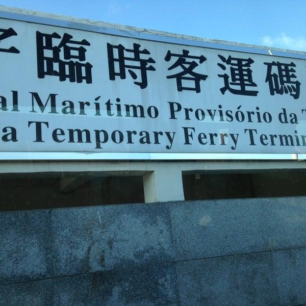 Photo taken at Taipa Ferry Terminal by Smac on 7/4/2013