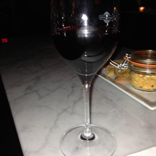 Photo taken at Vanguard Wine Bar by Stefanie W. on 12/30/2012