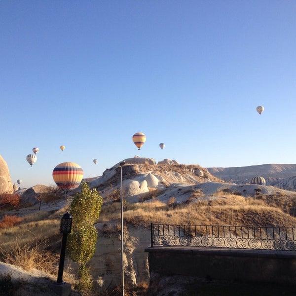 10/31/2013 tarihinde @hmet Ç.ziyaretçi tarafından Tourist Hotels & Resorts Cappadocia'de çekilen fotoğraf