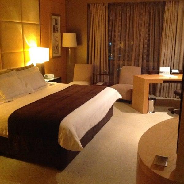 Photo taken at Shangri-La Hotel by Chris D. on 5/5/2013