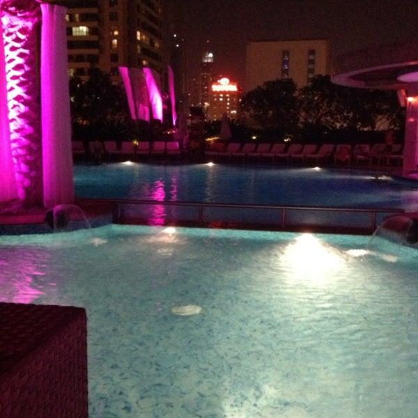 Photo taken at Shangri-La Hotel by Chris D. on 5/7/2013