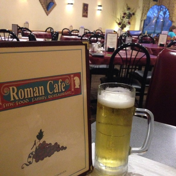Photo taken at Roman Cafe by Ashleigh W. on 4/15/2014