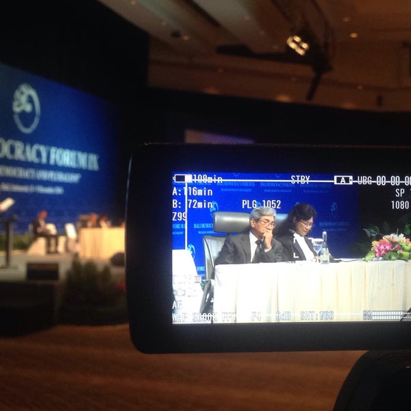 Photo taken at Bali International Convention Centre (BICC) by Adi W. on 12/9/2016