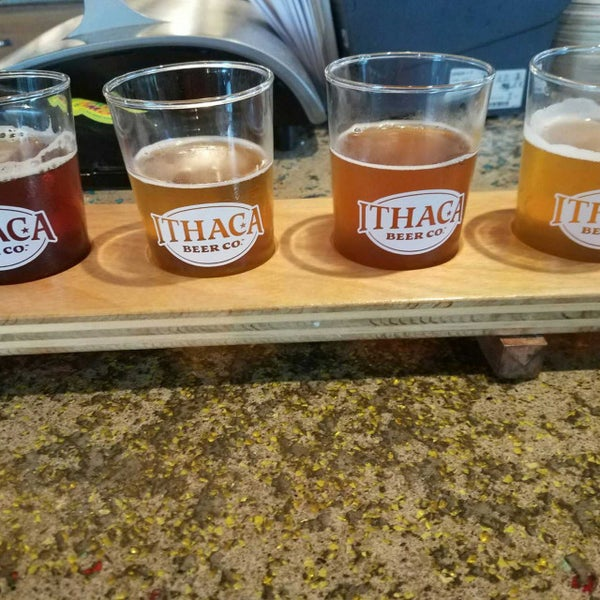 Photo taken at Ithaca Beer Co. Taproom by Lori V. on 7/13/2017