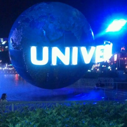 Photo taken at Blue Man Group at Universal CityWalk by Janell M. on 11/8/2012