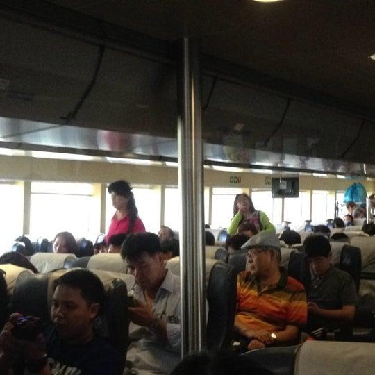 Photo taken at Taipa Ferry Terminal by Nutnicha P.Lynn🍄🎀 on 7/23/2013