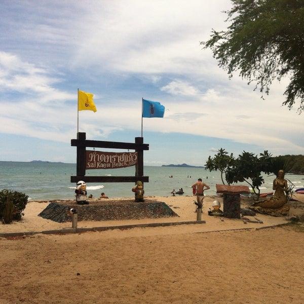 Photo taken at Sai Keaw Beach by kaiwa k. on 6/2/2013