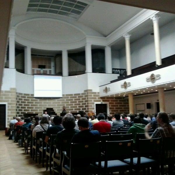 Photo taken at University of Latvia by Ioannis C. on 7/8/2013
