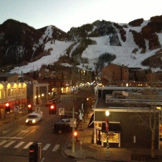 Photo taken at Hotel Jerome by Elizabeth I. on 11/21/2012