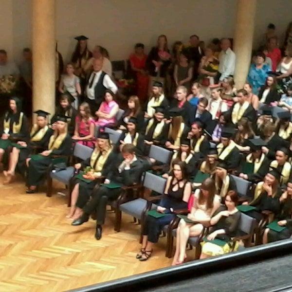 Photo taken at University of Latvia by Antra S. on 6/25/2013
