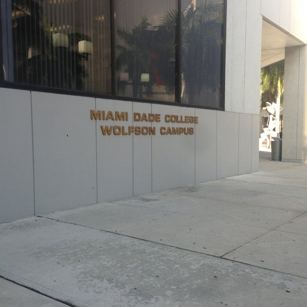 Photo taken at Miami Dade College Wolfson Campus by Kevin P. on 4/2/2013