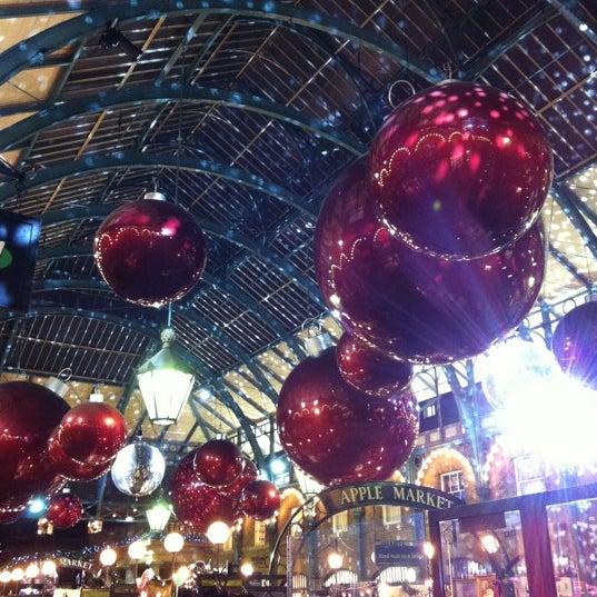 Photo taken at Covent Garden Market by Caroline G. on 11/27/2012
