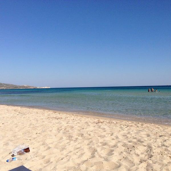 Photo taken at Ramo Beach by SerKaN H. on 6/21/2013