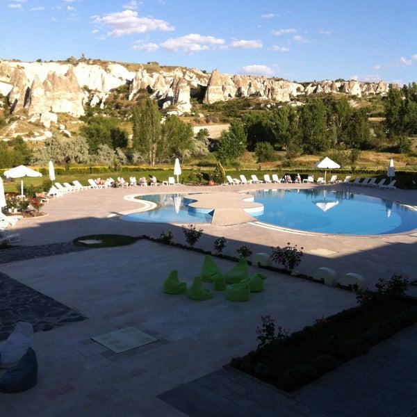 5/28/2013 tarihinde Tolga T.ziyaretçi tarafından Tourist Hotels & Resorts Cappadocia'de çekilen fotoğraf