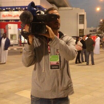 Photo taken at Qatar Tennis Federation by Kimani E. on 2/20/2013