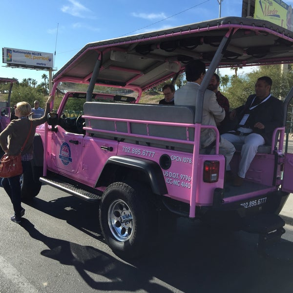 Photo Taken At Pink Jeep Tours   Las Vegas By Patrick O. On 12/