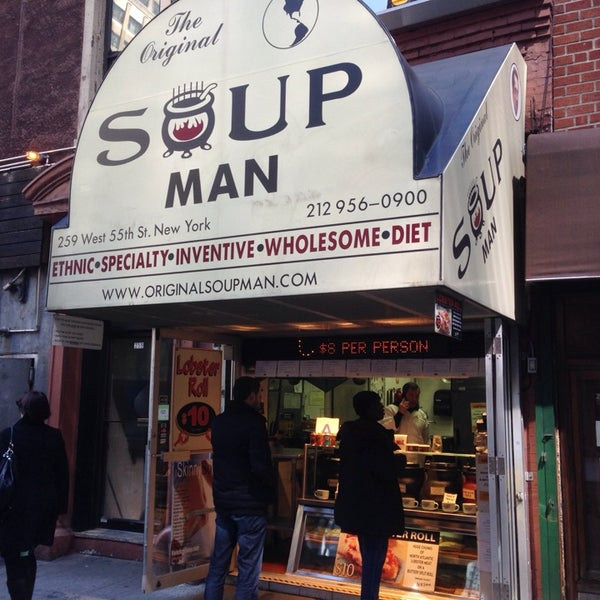 Soup Man - Theater District - New York City, NY