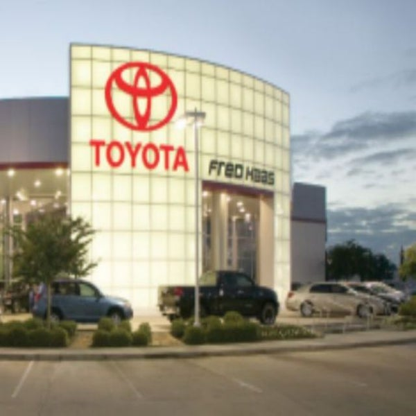 Photo Taken At Fred Haas Toyota World By Fred Haas Toyota World On 2/2