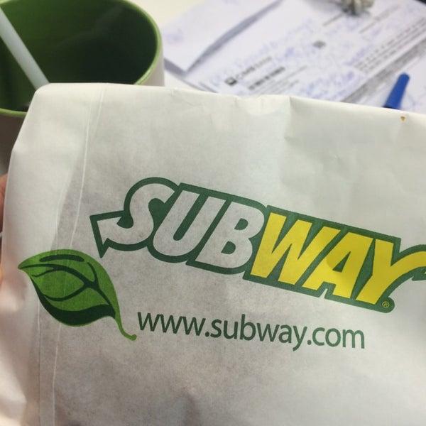 Photo taken at Subway by Tata T. on 7/23/2014