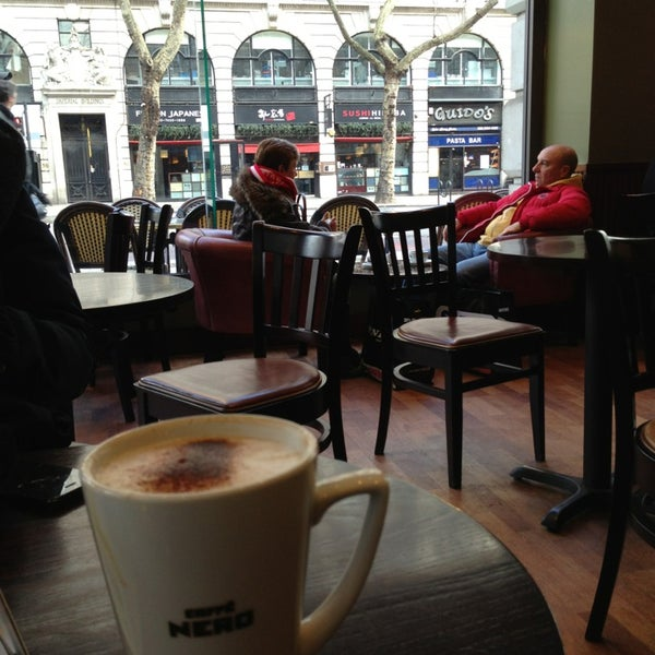 Photo taken at Caffè Nero by Pascal S. on 4/1/2013