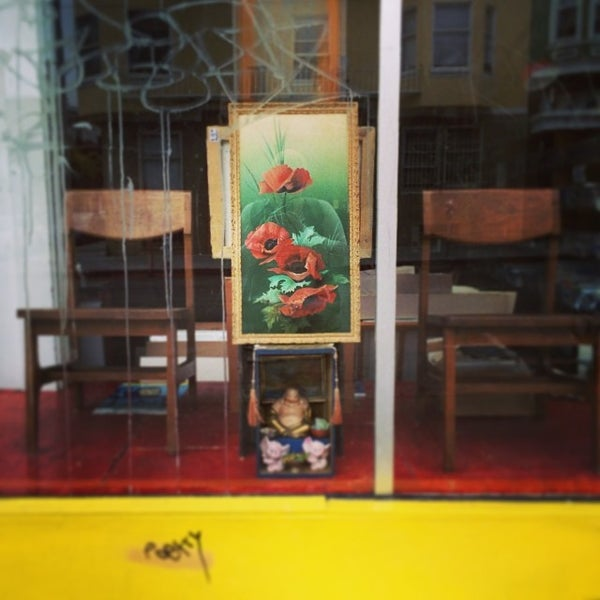 Apartment Shopping: Antique Shop In Mission District