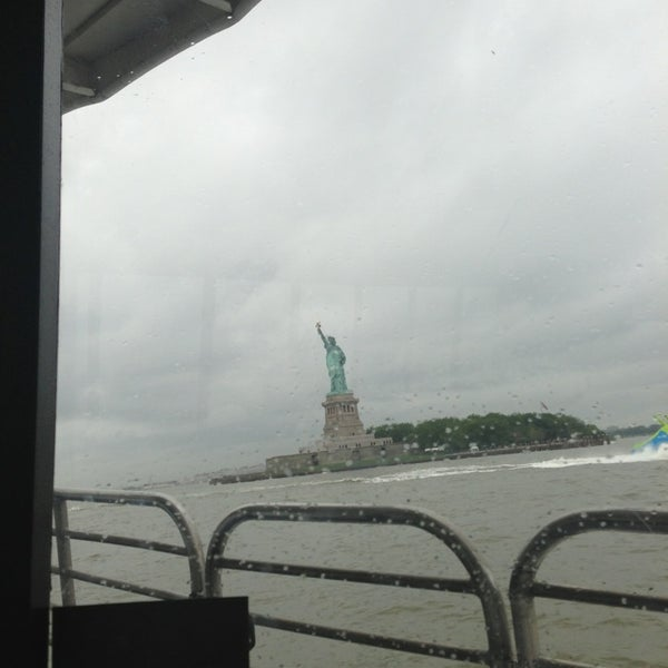 Photo taken at New York Harbor by Phil D. on 7/1/2013