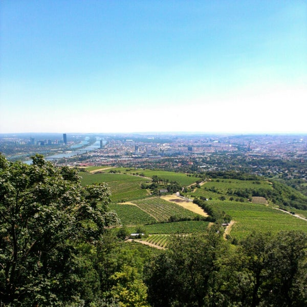 Photo taken at Kahlenberg by Женя Б. on 7/21/2013