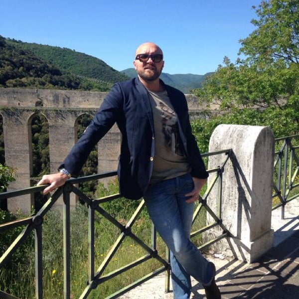 Photo taken at Ponte Delle Torri by Gabriele D. on 5/18/2014