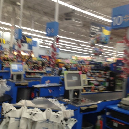 Photo taken at Walmart by Shadow P. on 12/12/2012