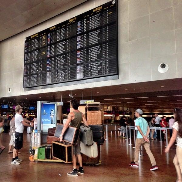 Снимок сделан в Брюссельский аэропорт (BRU) пользователем Bernd F. 7/23/2013