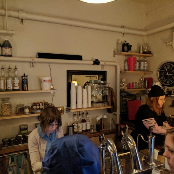 Photo taken at Ghost Alley Espresso by Russell S. on 4/23/2017