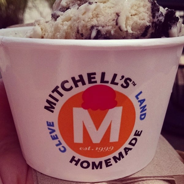 Photo taken at Mitchell's Ice Cream by Catherine B. on 8/15/2014