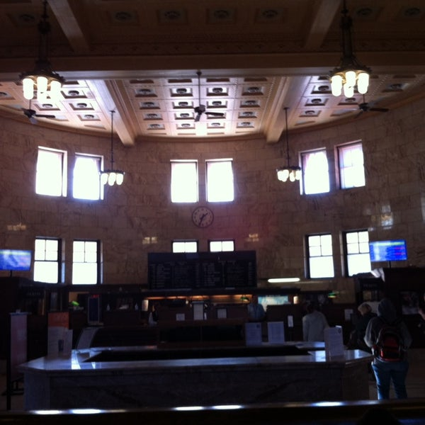 Photo taken at Union Station Amtrak (PDX) by Kač on 11/11/2014