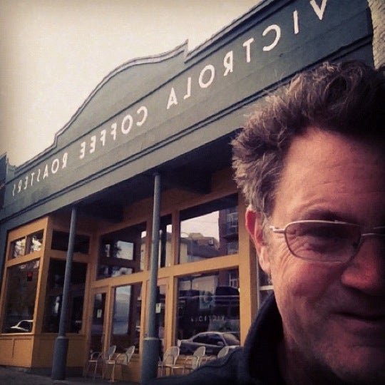 Photo taken at Victrola Cafe and Roastery by Chris T. on 10/23/2012