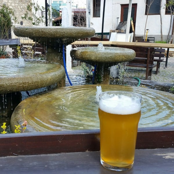 Photo taken at Old Town Brewery by Hüseyin D. on 4/2/2018