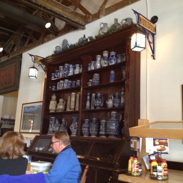 Photo taken at Hofbräuhaus Newport by Re M. on 3/10/2013