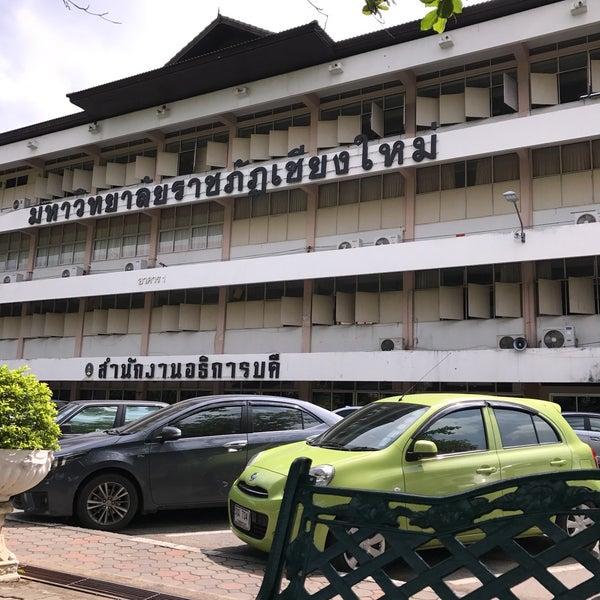 Photo taken at Chiang Mai Rajabhat University by Kuantum N. on 4/18/2017