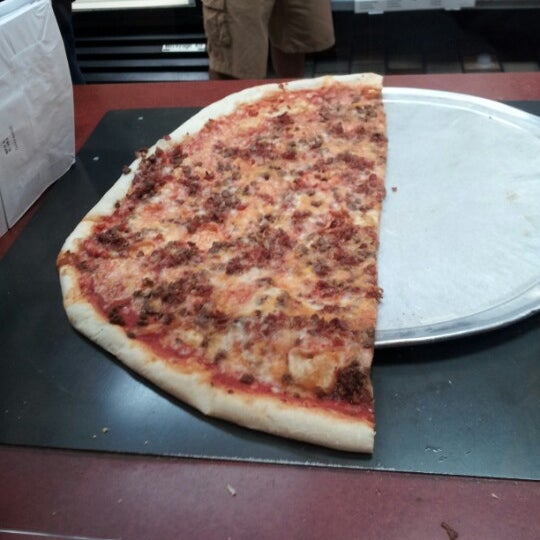 Photo taken at Burke Street Pizza by Victor T. on 11/17/2012