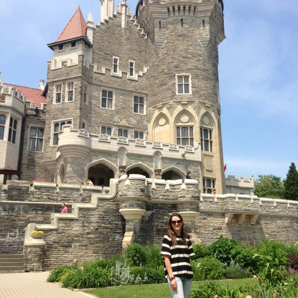 Photo taken at Casa Loma by Mike F. on 6/15/2013
